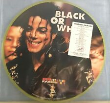 MICHAEL JACKSON Black or White Live in Bucarest 1993  PICTURE DISC Vinyl LP
