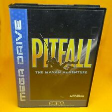 VINTAGE 1994 SEGA MEGA DRIVE PITFALL THE MAYAN ADVENTURE GAME PAL FRENCH SECAM
