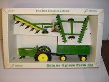 1/16 Vintage Deluxe 4-Piece Farm Set W/Barn by Scale Models NIB!