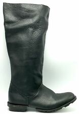 NWOB SCHUH Womens Leather Black 39 US 8 Boots New Shoes Mid-Calf