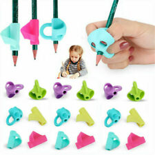 Kids Silicone Pencil Grips Holder Handwriting Ergonomic Pen Grippers Writing Aid