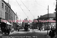 ST 82 - Campbell Place & Church Street, Stoke On Trent, Staffordshire c1920s