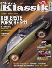 Motor Klassik 11/01 2001 Mercedes 170 MG TD Renault 4 Panhard Dyna Pegaso Z-102