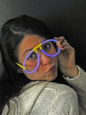 Knicklicht-Brille Blau Party Karneval Accessoires