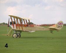1 X ROYAL AIRCRAFT FACTORY BE 2C RAF 100 YEARS PHOTOGRAPH