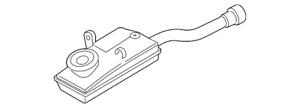 2014-2018 Ford Transit Connect OEM Brake Master Cylinder Reservoir EV6Z-2K478-A