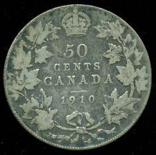 1910 Canada 50 Cent Piece, King Edward VII