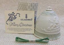 Lladro 1988 Campana Navidad Christmas Bell Ornament #5525 160453