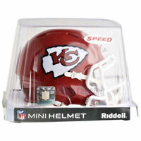 KANSAS CITY CHIEFS RIDDELL NFL MINI SPEED FOOTBALL HELMET