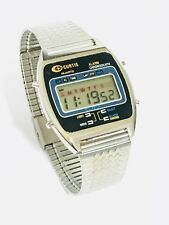 Vintage Curtis Melody Lcd Alarm Chronograph  Digital Wrist Watch (19041M)