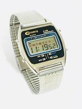 Vintage Curtis Melody Lcd Alarm Chronograph  Digital Wrist Watch (10547M)