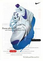 1995 NIKE Air Edge ll  :  athletic footwear (shoes) Magazine Print AD .
