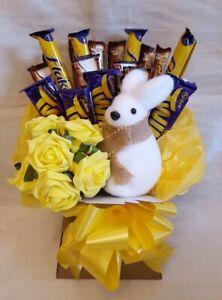 Bunny Chocolate Bouquet Cadburys and Galaxy - Sweet Gift Hamper