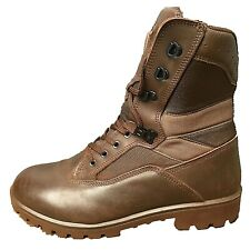 YDS Kestrel Brown British Army Boots MTP Surplus Issue Leather Combat Cadet Mens