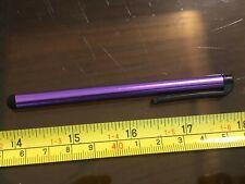 Stylus Pen Tablet Ebook Reader Escudete iPad Negro Clip de Repuesto Púrpura Brillante Brillante