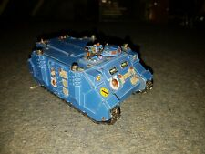 Forgeworld Detailed Ultramarine Rhino wh40k space marine gw custom painted