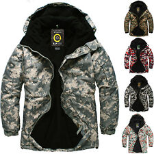 SOUTH PLAY Mens Premium Ski Snowboard Waterproof Jacket Jumper Parka CAMO ACU