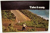 1970 Honda CB-100 Motorcycle Dealer Sales Brochure Super Sport 100 Folder
