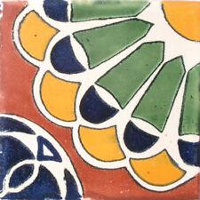 90 Mexican Tiles Talavera Ceramic Handmade Mexico #C018
