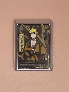 Naruto TCG CCG Naruto Uzumaki Foil Promo English Near Mint Samurai Rare PR061