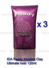 IDA Faddy Molding Clay Ultimate Hold 120ml x 3 Free post tracking