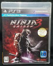 Ninja Gaiden 3 PS3 Playstation 3 JAPAN IMPORT - NEW *Damaged Packaging