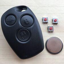 RENAULT Clio Laguna Kangoo Kubistar 3 Button Remote Key Fob Case Repair Kit
