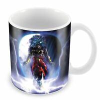 Mug brolly dragon ball plus forts des saiyan manga dbz