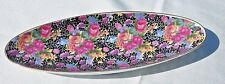 1950's Mid Century ARNART 5th Ave ROYAL CHINTZ 2178 VINTAGE OVAL  DISH