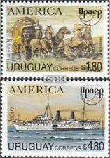Uruguay 2059-2060 unmounted mint / never hinged 1994 Postal delivery