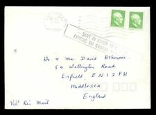 Handstamped British Colonies & Territories Cover Stamps
