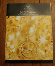 Rare Mercedes-Benz the collection Catalog Gift apparel Holiday 2001 Christmas