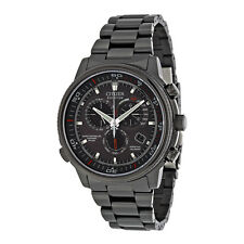 Citizen Nighthawk A-T Grey Dial Mens Watch AT4117-56H