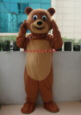 New Teddy Bear Mascot Costume Fancy Dress Adult Suit