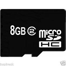 Nuevo Micro Sd 8GB Tf a Memory Stick pro Duo Adaptador para Psp
