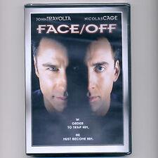 Face/Off FBI 1997 thriller R movie, new DVD John Travolta Nicolas Cage terrorist