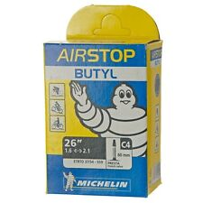 """Michelin Airstop Butyl Tube 26"""" x 1.6-2.1 Presta Valve"""