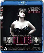 """Malgorzata Szumowska """"Elles"""" Juliette Binoche 2011 France Drama Region A Blu-Ray"""