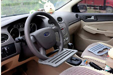 Car iPad Support Stand Dining table Clip Steering wheel Tray Drink Holder sh