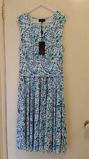 NEW Trent Nathan Solf Spot jersey Sless dress, size 10