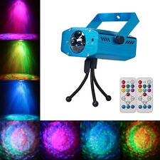LED Water Wave Ripple Effect Projector Stage Light DJ Disco Lights + Controllers