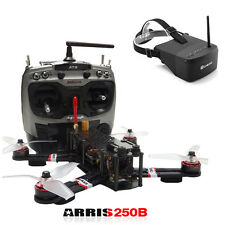 ARRIS X-Speed 250B V3 RC FPV Racing Drone Quad RTF + Eachine EV800 FPV Goggles