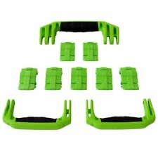 New Pelican Lime Green 1650 replacement latches (7) & handles (3) - kits.