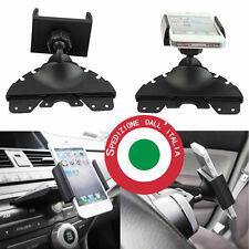 Supporto auto porta cellulare universale Smartphone fessura lettore cd Iphone