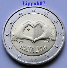 Malta speciale 2 euro 2016 Love / Liefde UNC direct leverbaar!