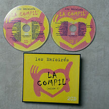 CD AUDIO/ LES ENFOIRÉS LA COMPIL' VOL 2 VARIOUS ARTISTS 2001  2 X CD COMPILATION