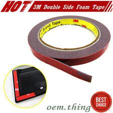 #LA STOCK Automotive Double Sided Acrylic Foam Tape Adhesive x3 Rolls 3M Tape