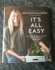 Autographed Gwyneth Paltrow Authentic Signed It's All Easy Hardcover Book