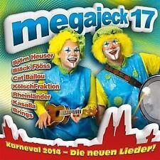 Megajeck 17 - Karneval 2014 - Various Artists - CD - Neu / OVP