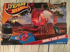 Hot Wheels Team Hot Wheels Double Dare Snare Track Set Toy Gift NIB